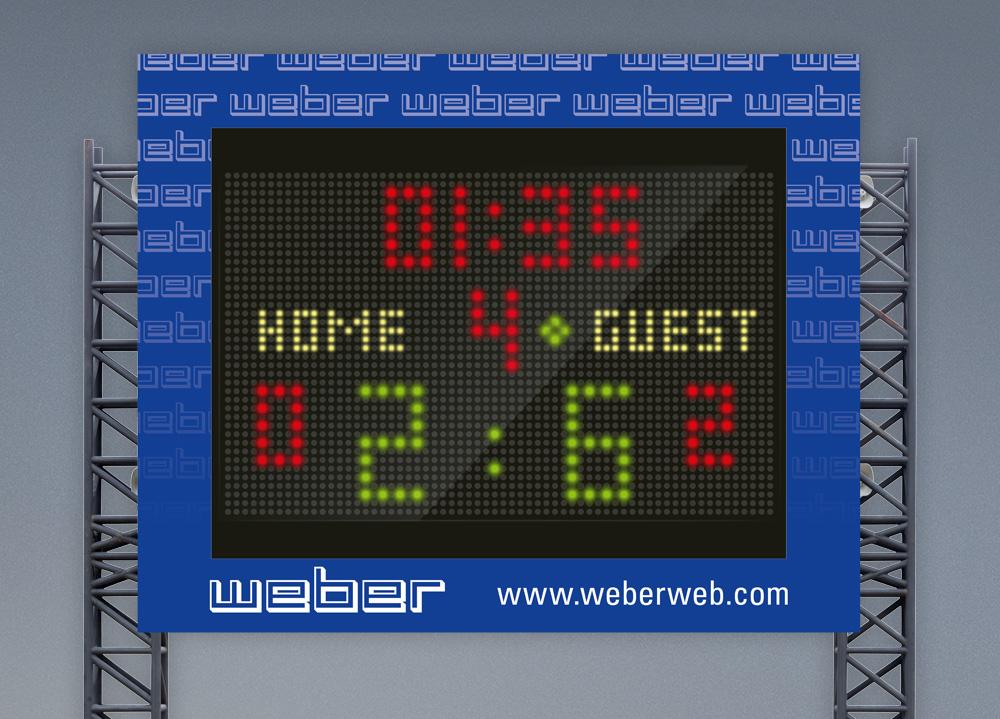 Scoreboard KTV Weber